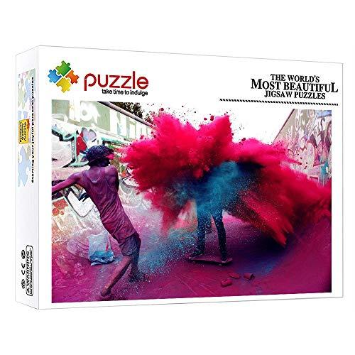 GFSJJ 1000 Piezas Puzzles para Adultos Kids Infantiles Adolescentes Pintor Puzzles Cuadros Famosos Educativos Entretenimiento Adultos (20.5 X 15 Pulgada)