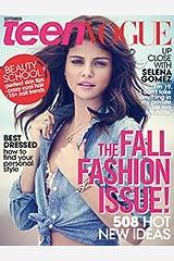 Teen Vogue Magazine (September, 2012) Selena Gomez Cover Single Issue Magazine
