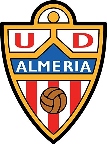 UD Almeria FC Spain Soccer Football Alta Calidad De Coche De Parachoques Etiqueta Engomada 10 x 12 cm