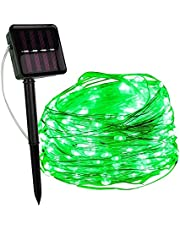 LED Outdoor Solar Lamp String Lights LEDs Fairy Holiday Wedding Party Garland Solar Garden Waterdicht voor Thuis Led Decor-Green_20M_200_LED