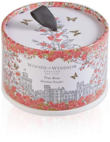 Woods of Windsor True Rose Dusting Powder 100g