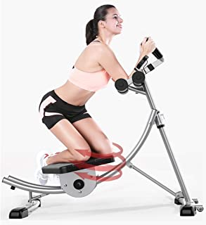 Sliver AB Coaster Core Abdominal Trainers Home Gym, ABS Waist Training Incline Decline Benchs, Roterbar Kudde, Dual Steel ...