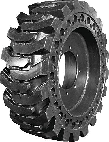 Summit Flat Proof 10 X 16.5 Skid Steer Tires W/Rims Cat Deere Bobcat Gehl Solid