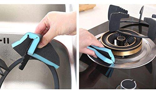 TAOtTAO Kitchen Nano Emery Magic Clean Rub Pot Rust Focal Stains Sponge Removing Kit