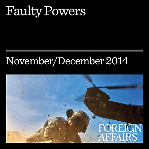 Faulty Powers audiobook cover art