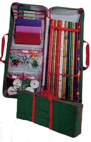 Master Craft Gift Wrap Storage Bag, Green