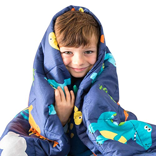 Luna Kids Weighted Blanket | Individual Use - 5 lbs - 36x48 - Child Size Bed | 100% Oeko-Tex...