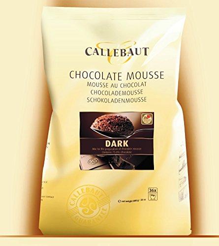 Callebaut in polvere mousse al cioccolato fondente