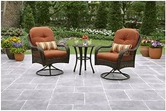 3-Piece Outdoor Furniture Set, Better Homes and Gardens Azalea Ridge 3-Piece Outdoor Bistro Set, Seats 2