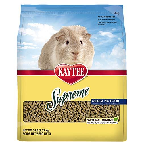 Kaytee Supreme Guinea Pig Food, 5-Lb Bag