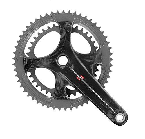 Campagnolo Super Record Pédalier de vélo Mixte Adulte, Noir