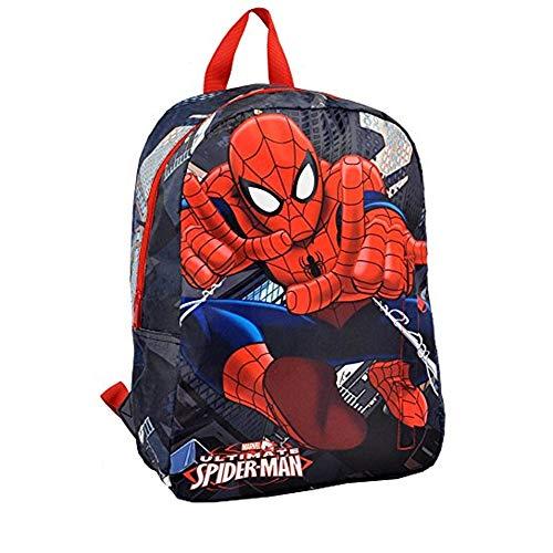 Mochila infantil Spiderman Marvel, mochila para niño o hombre, diseño de araña de superhéroe, guardería, escuela primaria, grande
