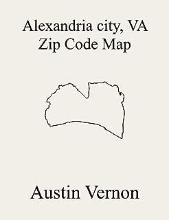 alexandria zip code map