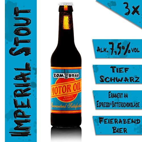 Zombräu Craft Beer Probierpaket - 12 x 0,33l Bier Set - In Handarbeit gebraute Biersorten mit einzigartigem Geschmack - Zum Bier Tasting oder als perfekte Geschenkidee - 4
