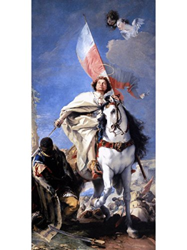 St James The Greater Conquering The Moors by Giovanni Battista Tiepolo