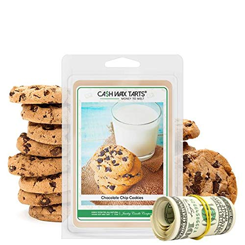 Cash Money Wax Melt | Cash Tart | Surprise Valued at $2 - $2,500 | Soy Wax Natural | Chocolate Chip Cookies