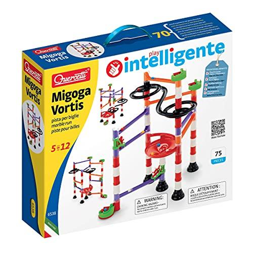 Quercetti- Migoga Marble Run Gioco Pista per Biglie, Multicolore, 6538