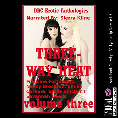 Three-Way Heat Volume Three: Five Explicit FFM Threesome Stories Titelbild