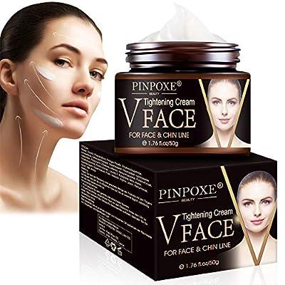 Face Lifting Cream, V Face Cream, Anti Aging Face Cream, Anti Wrinkle Face Creams, Resilience Lift Firming and Sculpting Face Cream, V-Shaped Facial Lifting Thin Face Anti-Ageing Cream Moisturizer