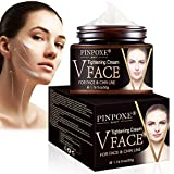 Face Lifting Cream, V Face Cream, Anti Aging Face Cream, Anti Wrinkle Face Creams, Resilience Lift Firming and Sculpting Face Cream, V-Shaped Facial Lifting Thin Face Anti-Ageing Cream Moisturizer