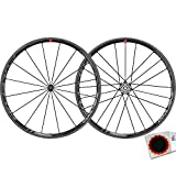 Fulcrum Racing Zero Carbon C17 - Juego de ruedas para bicicleta (28' - CA 9-11 Carbon + parches)