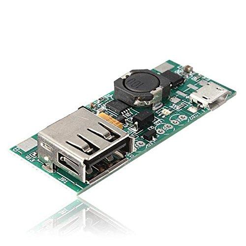 Doradus 3.7 V Li-Ion Akku Mini USB auf USB Netzteil-Modul 5V 1A Ladegerät Module