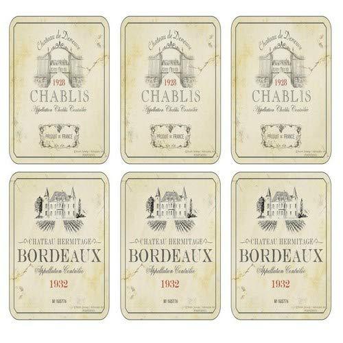 Vin de France Untersetzer 6 Stück (m)