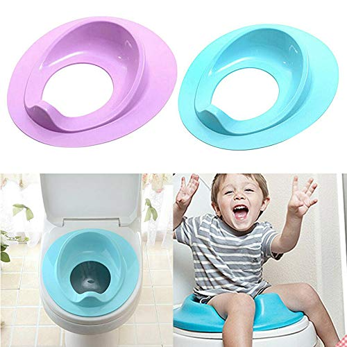Syfinee Kids Toilet Seat Baby Safety Toilet Chair Potty Training Seat