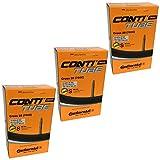 Continental Cross 28 700 x 32-47c Bike Inner Tubes - Presta 60mm Long Valve (Set of 3)