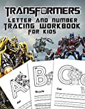 Transformer Letter And Number Tracing Workbook For Kids: Practice Pen Controlling With A Gorgeous Letter And Number Tracing Workbook For Kids - ... Transformer Images For Studying And Relaxing