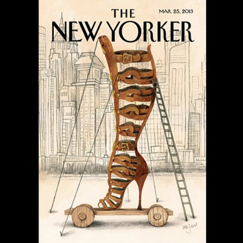 The New Yorker, March 25th 2013 (Kelefa Sanneh, William Finnegan, John Cassidy) copertina