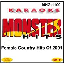 Monster Hits Karaoke 1100 - Female Country Hits of 2001