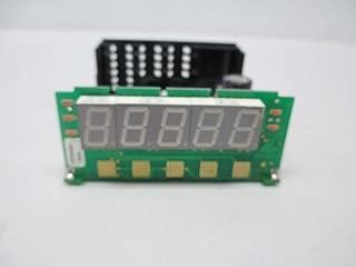 Red Lion Controls DP5D0000 - DC Voltage & DC Current Meter w/Red Backlit Display & ACV Power