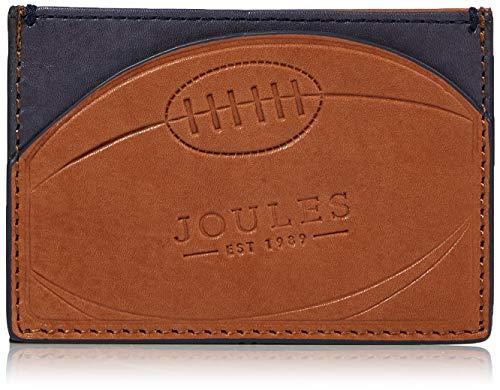 Joules Herren Hobson Rugby Geldbörse, Braun (Tan), 0.5x7x10 Centimeters