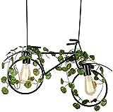 AJH Jue Kronleuchter, Retro Industrieanlage Fahrrad Kronleuchter Thema Restaurant Kunst Lampe kreative Persönlichkeit Bar Bar Lighting