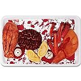THE TWIDDLERS 12 Parti del Corpo finte, Ideali Come Bloody Decorazioni nelle Feste di Halloween. Include insanguinata Occhi, Orecchie, Dita, Naso
