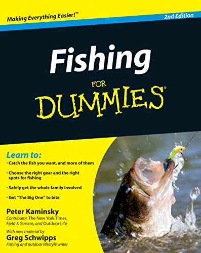 Compare Textbook Prices for Fishing for Dummies 2 Edition ISBN 9780470930687 by Kaminsky, Peter,Schwipps, Greg