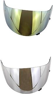 Amuzocity 2 x uniseks helmen met vizier voor HJC HJ 09 CL 15 CL 17 CL 16 CL SP