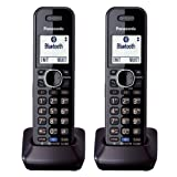 Panasonic KXTGA950B Dect 6.0 Handset 2-Line Landline Cordless Telephone (2-Pack) (Certified Refurbished)
