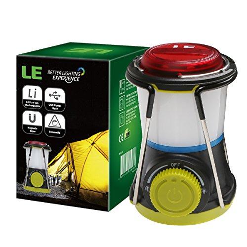 LE Mini LED Camping Lantern Powerbank, USB oplaadbaar noodlicht, kindermaat, waterdicht noodlicht, flitslicht