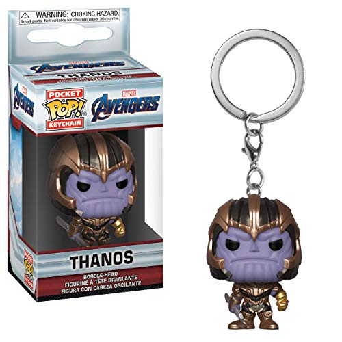 Horror-Shop Avengers Endgame - Llavero Thanos Funko Pop!