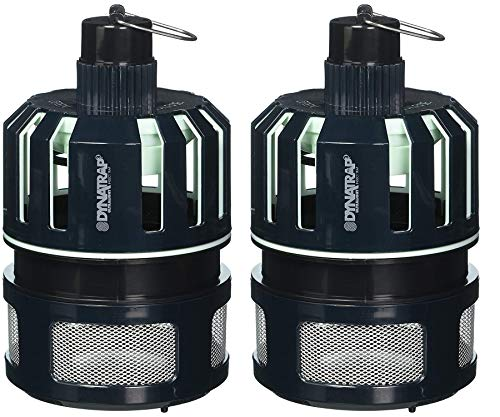 DynaTrap DT150 Ultralight Insect Mosquito Trap Midnight Blue (Pack of 2)