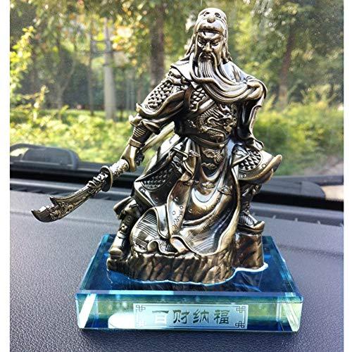 Legering Auto Guan Gong Ornamenten, Auto Parfum Stoel Decoratie Decoratie Auto Home Office Accessoires Beste Verjaardag Vakantie Gift messing