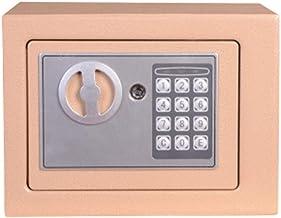 Yuanoo Safe Box Toetsenbord Lock Small Safes Mini Safes In-Wall-Safes Elektronische wachtwoordboxen, kinderbeveiligingen, ...