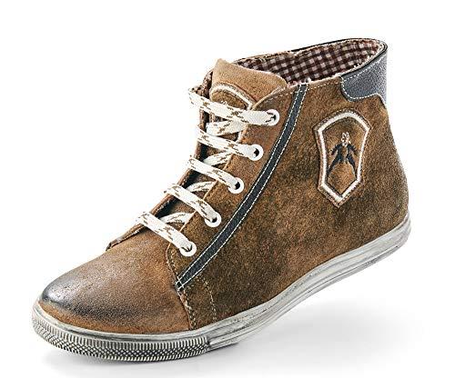 Maddox Damen Trachten Schuhe Hohe Sneaker Victoria - Wood Nappato Gr. 39