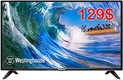 "Westinghouse 32"" HD LED TV,720P,60Hz TV for Kitchens,Dorm Rooms or Offices with HDMI Included,Black"