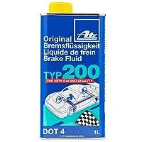 ATE オリジナル ブレーキ液 DOT 4 TYP 200 / TYP200 (高沸点) 4リットル 706202