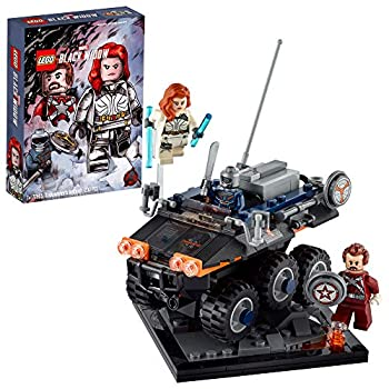 LEGO Marvel Avengers Taskmaster's Ambush 77905 Exclusive Black Widow Movie Building Kit  Includes Black Widow Taskmaster and Red Guardian Minifigures and The Taskmaster's Vehicle  230 Pieces
