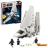 LEGO 75302 Star Wars Lanzadera Imperial Juguete de construcción con Mini Figuras de Darth Vader y Luke Skywalker
