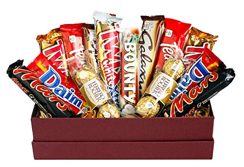 Variety Chocolate Hamper Gift Box Present for All Occassions - Favourite Treats Set 1